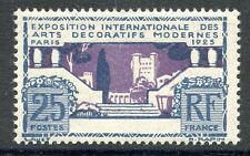 STAMP / TIMBRE FRANCE N° 213 ** EXPO ARTS DECORATIFS PARIS