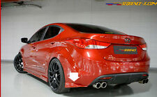Rear Bumper Lip UNPAINTED 2p For 2011 2013 Hyundai Elantra Avante MD