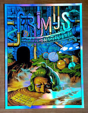 Primus New Orleans Willy Wonka Holofoil Foil Print Jason Edmiston Signed Ed 34