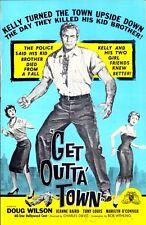 GET OUTTA' TOWN pressbook, Doug Wilson, Jeanne Baird, Marilyn O'Connor