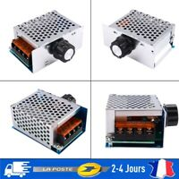 Variateur Régulateur Electronique Contrôleur de Vitesse Tension 4000W 220V