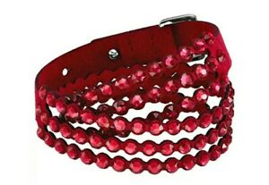 Swarovski Slake Power Collection Red Crystal Bracelet