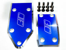 Losi 5IVE-T  5T and MINI WRC Aluminum skid plate set By Jofer USA RC, BLUE