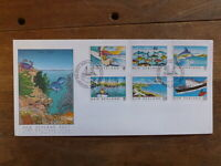 NEW ZEALAND 1989 HERITAGE ISSUE SET 6 STAMPS FDC FIRST DAY COVER