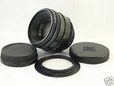 HELIOS 44-2 2/58 mm f/2 WITH FOCUS TO INFINITY FOR NIKON DSLR LENS NICE 82053557