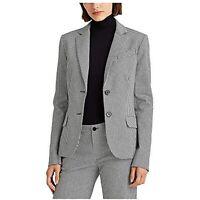 MSRP $195 Ralph Lauren Houndstooth Twill Blazer Size 10