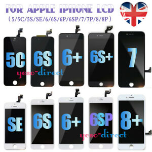 For iPhone 5 SE 6 6S 7 8 Plus  Screen Replacement LCD 3D Touch Digitizer Display