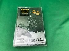 Sealed Wu-tang Clan Iron Flag Cassette Tape 36 Chambers