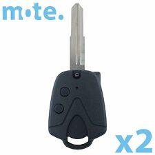 2 x Proton Car Key Wira 415 416 Persona Right Blade 2 Button Shell/Case/Fob