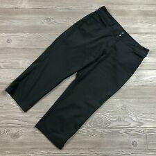 Adidas Golf Dark Gray Capri Pants Cropped Women's 10 E19