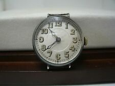 1918 Antique Swiss Elem Trench watch - Sterling Silver case. Ford Motor Co.