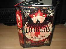 Anna Stephens - Godblind Signed Lined Numbered 1st 2017 debut fantasy Red Gods