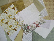 """Falling Leaves 6x6"""" Scrapbook Papers 16 sheets by First Edition - Autumn colours"""