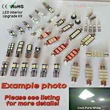 Interior Light LED replacement kit for AUDI A6 C6 +RS6 S6 SLINE 4-11 14pcs WHITE