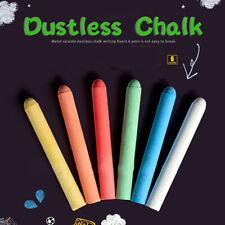 6pcs/lot Color White Dustless Chalk Pens for Blackboard Kitchen MarkNWUSMA