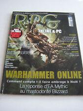 MAGAZINE RPG JEU DE ROLE CONSOLE , PC ET SUR TABLE PS2 , XBOX , GAMECUBE .