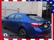 For 2014-2019 Toyota Corolla ABS Black Rear Roof Window Visor Spoiler 3D JDM USA