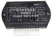 STK2025 Stereo Pwr Amp IC Generic