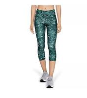 Under Armour Women's Headgear Capri Print Leggings 1328992 2XL  NWT New H219