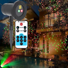 Waterproof Outdoor RG Laser Projector Light Garden House Lawn Xmas Party Lights
