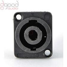 1 x Speakon 4 Pin Jack Femmina Compatibile Audio Cavo Pannello Presa Connettori