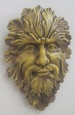 GREEN MAN LEAF FACE HOME AND GARDEN WALL DECOR 10049