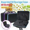 60 Bottle Essential Oil Carry Case 5~15ml Holder Storage Aromatherapy Hand Ba_FR