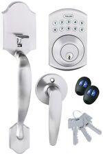 Door Lock Electronic Handle Set Deadbolt Keyless Keypad Lever Security Remotes