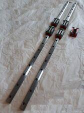 Linear Rail Guide 60 X2 Amp Bearings Block X4 Cnc Kit Router Mill Plasma Laser