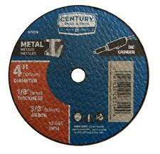 "Century Drill and Tool 4"" x 1/8"" Metal Cuttoff Wheel case of 5"