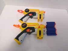 2 NERF Laser Pointers with 10 Darts Tested & Fast Shipping