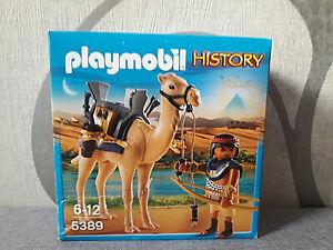 Playmobil History 5389 Kamelkämpfer - Neu - B-Ware
