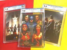 Justice League #21 CGC 9.8,Justice League of America#10 SDCC #15 NYCC Foil  lot
