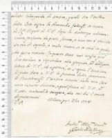 20877) ITALY Partial Folded Letter 5.12.1778 from Milano