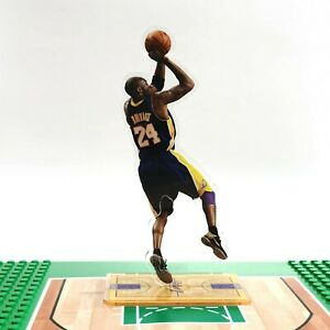 Kobe Bryant Standing Figure - Kobe #24 with NBA Los Angeles Lakers Shooting Ball