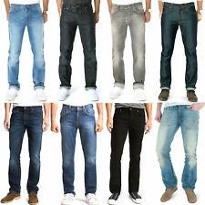 Neu Nudie Herren Slim Straight Fit Bio Jeans Hose - Slim Jim - B-Ware