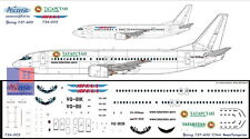 "1/144 Boeing 737-400 ""Tatarstan + Yamal"",  decals by ""Ascensio"" 734-005"