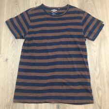 Kathmandu Enact Mens T-shirt Sz M Striped Organic Cotton D