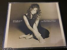 MARIAH CAREY Without You/ Never Forget You used cd-single RARE 1993 Free post