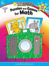 Home Workbooks: Puzzles and Games for Math, Grade 2 (2010, Paperback)