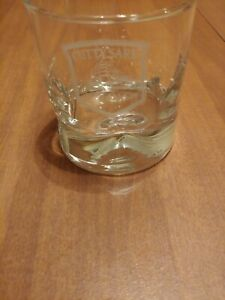 Cutty Sark Scots Whisky The Real McCoy Dimpled Old Fashioned Glass Barware