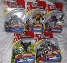 Transformers Generation Optimus Prime Megatron Starscream Set of 5 lot