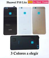 """Tapa Trasera Bateria para """"Huawei P10 Lite"""" Cubierta Repuesto Blanca Negra Azul"""
