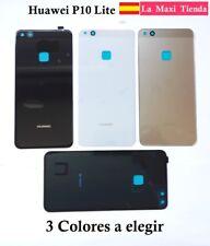 "Tapa Trasera Bateria para ""Huawei P10 Lite"" Cubierta Repuesto Blanca Negra Oro"