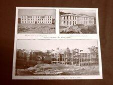San Martino d'Albaro 1924 Costruzione dell'Ospedale d'isolamento Genova Liguria