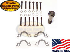 67-74 CAMARO NOVA CHEVELLE EL CAMINO EXHAUST MANIFOLD BOLT KIT WITH FRENCH LOCKS