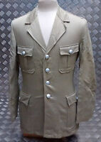 Genuine Vintage German Military Bush Jacket / Tunic 1960's / 70's Tropical Dress
