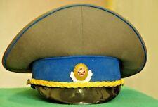 Russian Soviet KGB Officer service work uniform rare visor cap