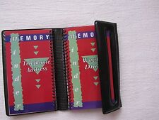 Pocket Calendars Planners & Personal Organizers Weekly Telephone Address Notes