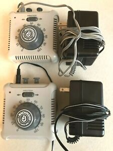 BACHMANN-#46605A Set of 2- POWER PACKS & SPEED CONTROLLERS-WORKS-USED